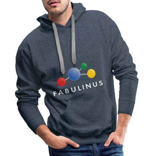 Fabulinus wit - Mannen Premium hoodie