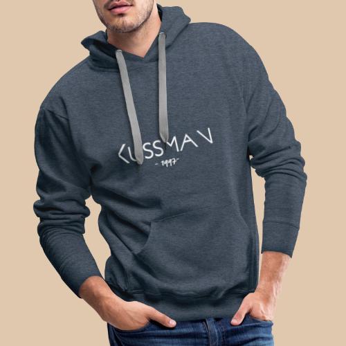 Kussman SportWear - Sweat-shirt à capuche Premium pour hommes