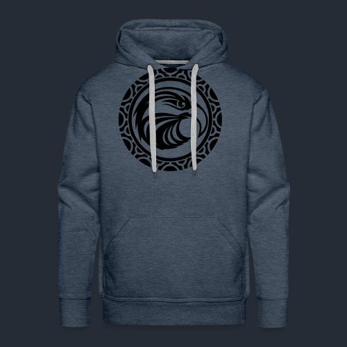 T-Shirt mit Maori Tattoo - Männer Premium Hoodie