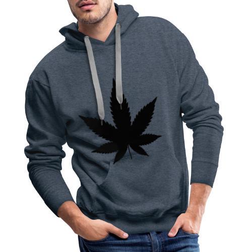 CannabisBlack - Männer Premium Hoodie