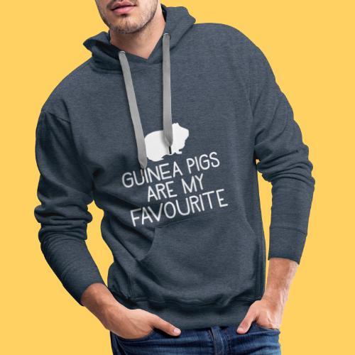 guinea pigs are my favourite - Men's Premium Hoodie