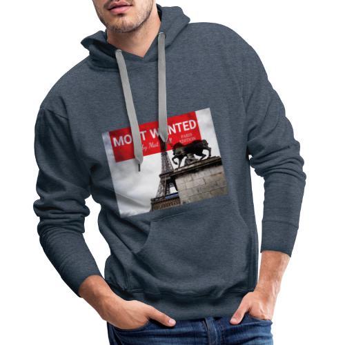 MOST Wanted - PARIS EDITION V3 - Sweat-shirt à capuche Premium pour hommes