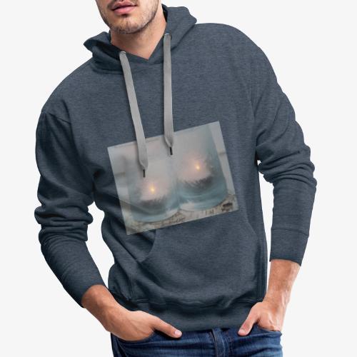 Selectie kaarslicht - Mannen Premium hoodie