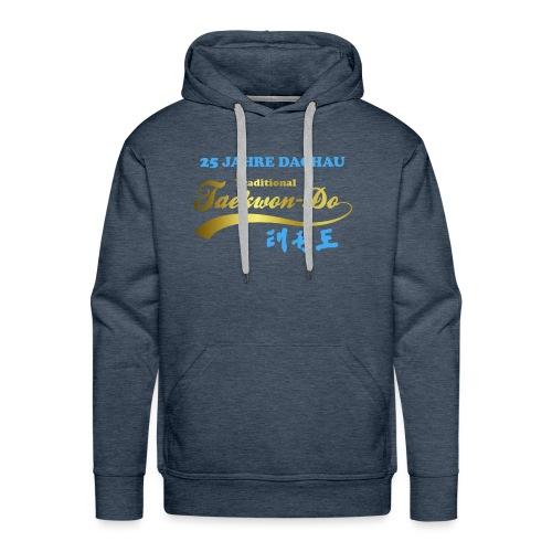 25 Jahre blau gold - Männer Premium Hoodie