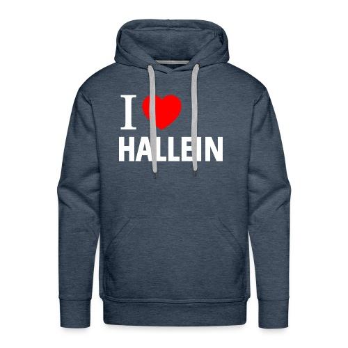 I love Hallein - Männer Premium Hoodie