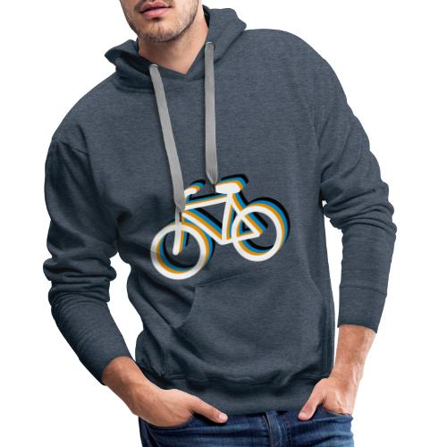 Bicycle Fahrrad - Männer Premium Hoodie