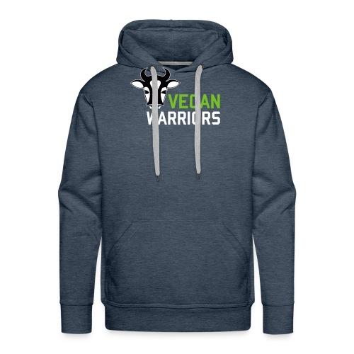 Vegan Warriors - Sudadera con capucha premium para hombre