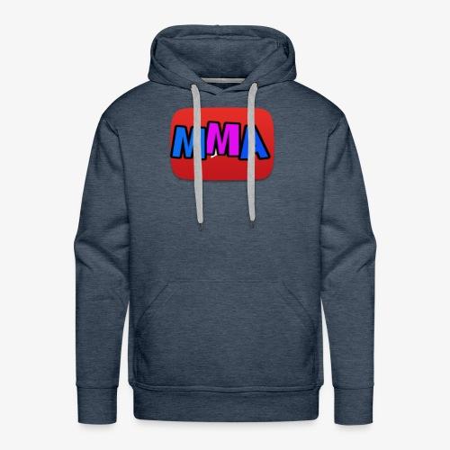 MMA Logo - Premium hettegenser for menn