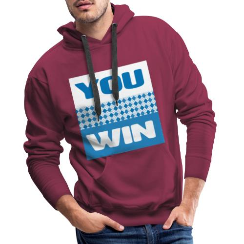 you win 21 - Men's Premium Hoodie
