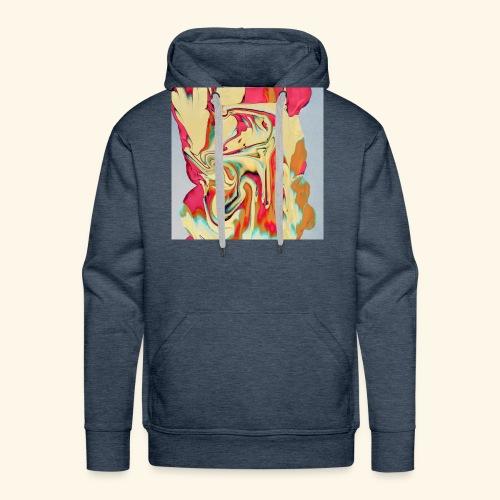 Psychedelic Art 3 - Men's Premium Hoodie