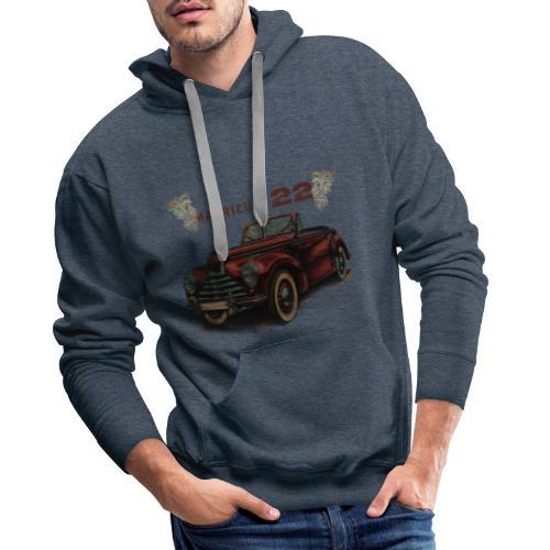 matricule 22 - Sweat-shirt à capuche Premium pour hommes