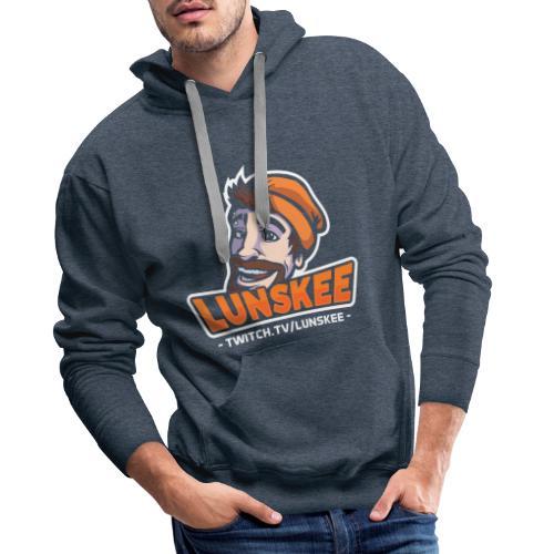 Lunskee Mascot Logo - Mannen Premium hoodie