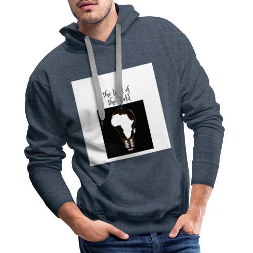 african mood - Sweat-shirt à capuche Premium pour hommes