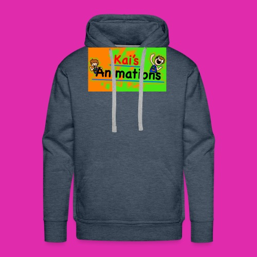 kai's animations logo - Men's Premium Hoodie