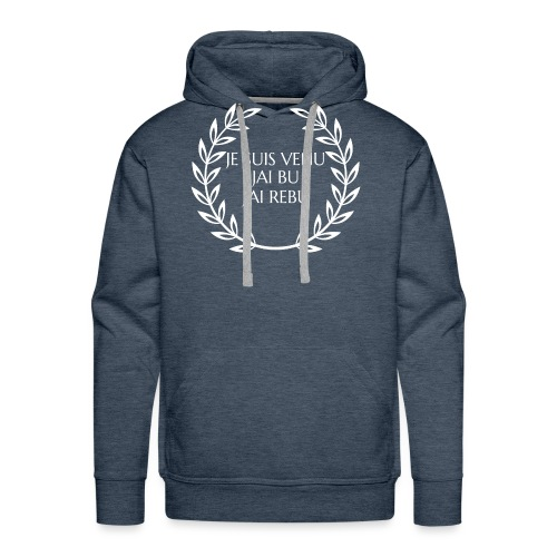 Je suis venu - Sweat-shirt à capuche Premium pour hommes