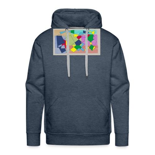 Abstract #1 - Men's Premium Hoodie