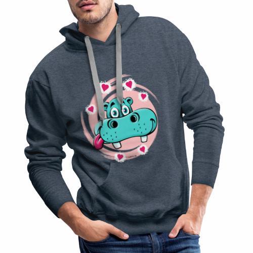 GP10-5A LOVE HIPPO Textile and Gift Products - Miesten premium-huppari