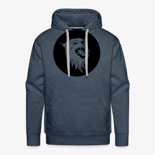 Howling Wolf - Men's Premium Hoodie
