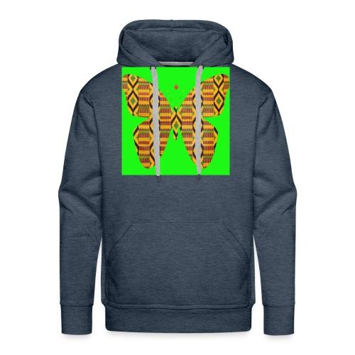 African design - Sweat-shirt à capuche Premium pour hommes