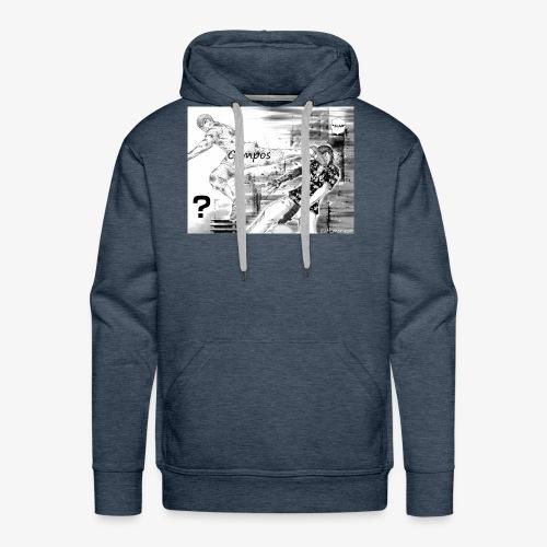 Gto compos - Sweat-shirt à capuche Premium pour hommes