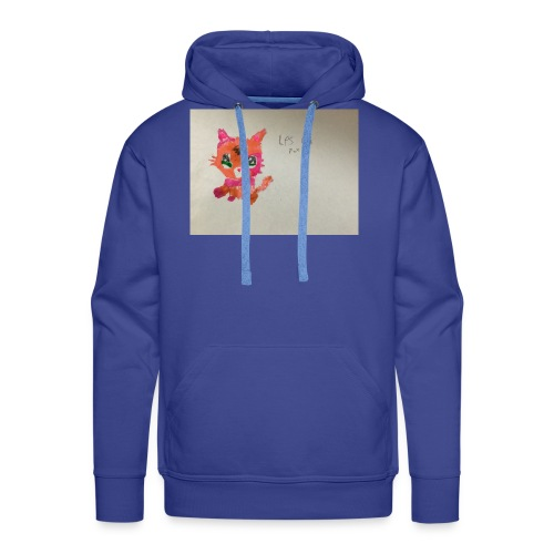 Little pet shop fox cat - Men's Premium Hoodie