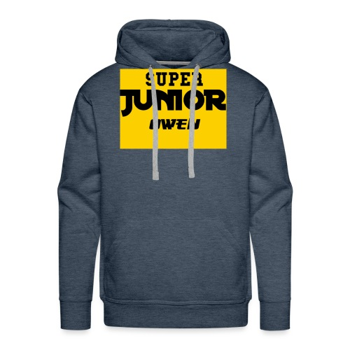 SJO Big DF Text - Men's Premium Hoodie