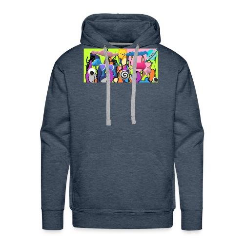 cats and dogs - Men's Premium Hoodie