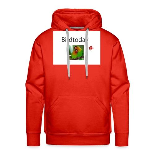 Birdtoday en Knuckels - Mannen Premium hoodie