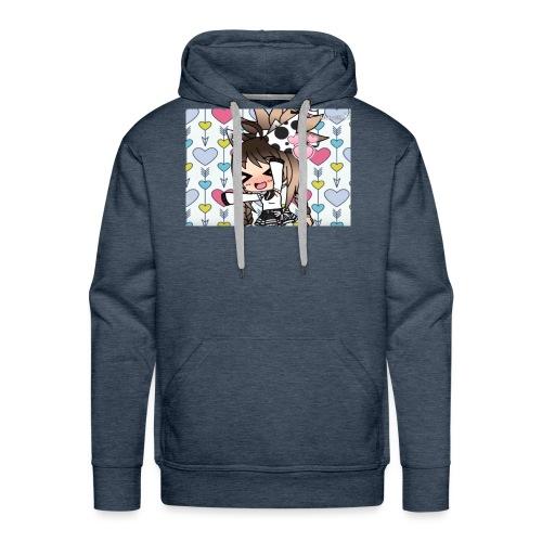 Urodzinowa Yuki! - Bluza męska Premium z kapturem