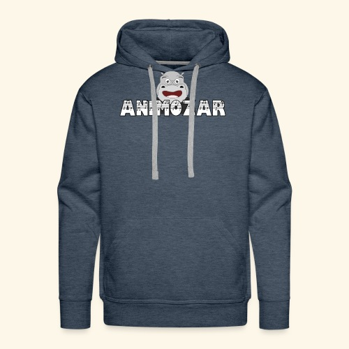 Logo officiel Animozar - Sweat-shirt à capuche Premium pour hommes