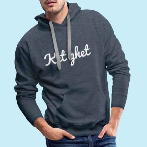 Ket ghet - Sweat-shirt à capuche Premium pour hommes