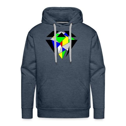 J.O.B. Diamant Colour - Männer Premium Hoodie
