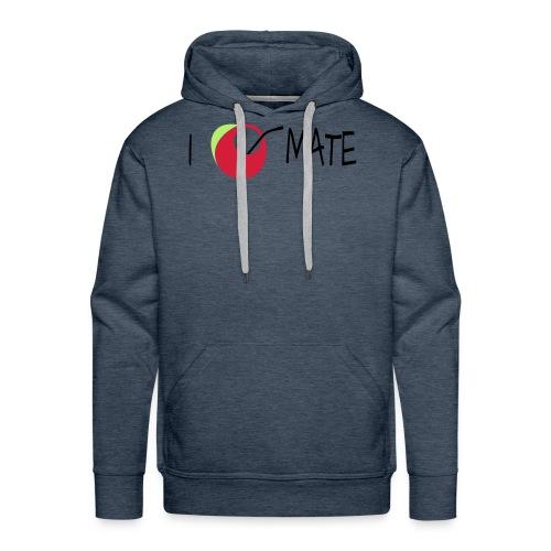 I love mate - Männer Premium Hoodie