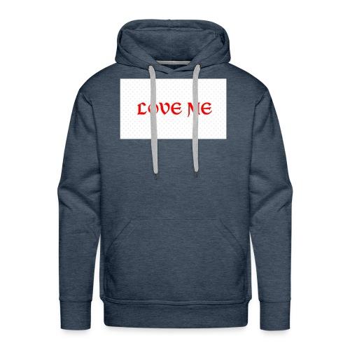Love - Sweat-shirt à capuche Premium pour hommes