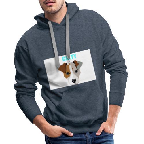 CALTY DOG HODDIE - Herre Premium hættetrøje