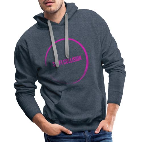 Pink Logo - Men's Premium Hoodie