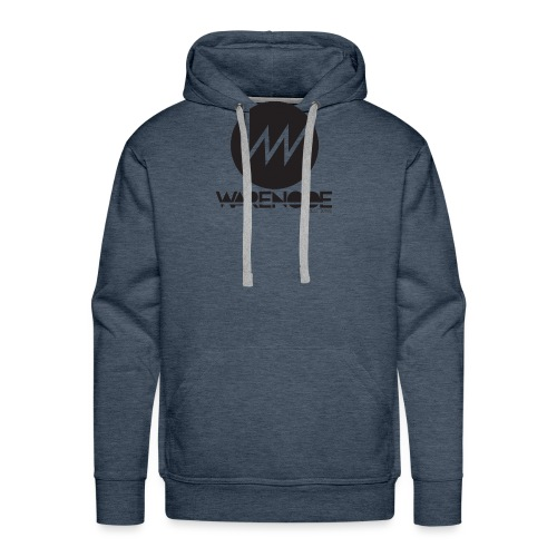 WareNode LOGO - Felpa con cappuccio premium da uomo