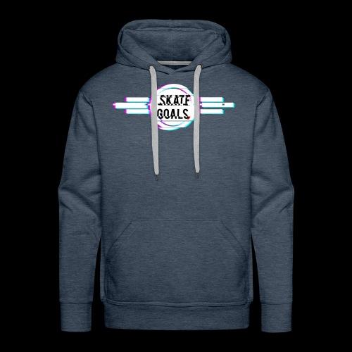 GLITCH SERIES - Mannen Premium hoodie
