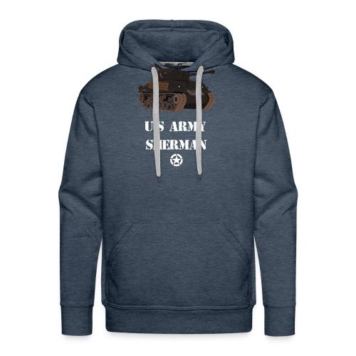 Sherman Tank WW2 - Men's Premium Hoodie