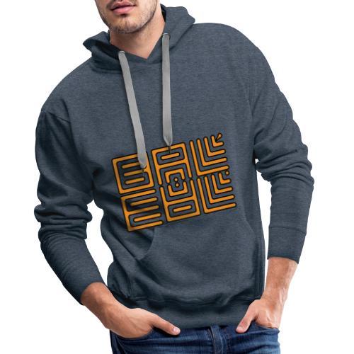 Wa-Dee-Ba Orange Edition - Sweat-shirt à capuche Premium pour hommes