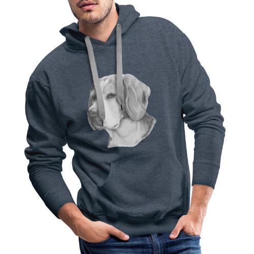 beagle M - Herre Premium hættetrøje