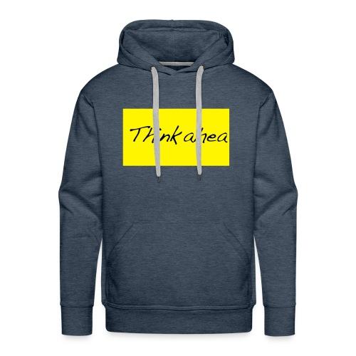 thinkahead - Men's Premium Hoodie