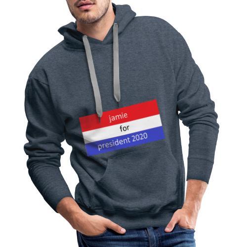 jamie for president 1 - Mannen Premium hoodie