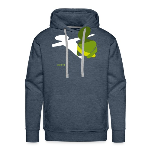 BEFIT_gr.png - Mannen Premium hoodie