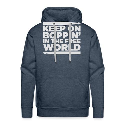 Keep on Boppin' - Men's Premium Hoodie
