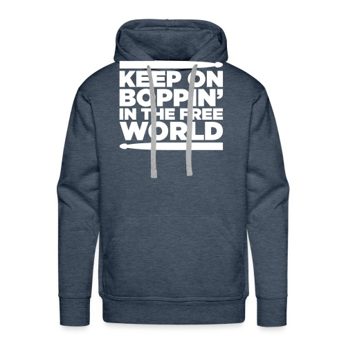 Keep on Boppin' - Men's Premium Hoodie