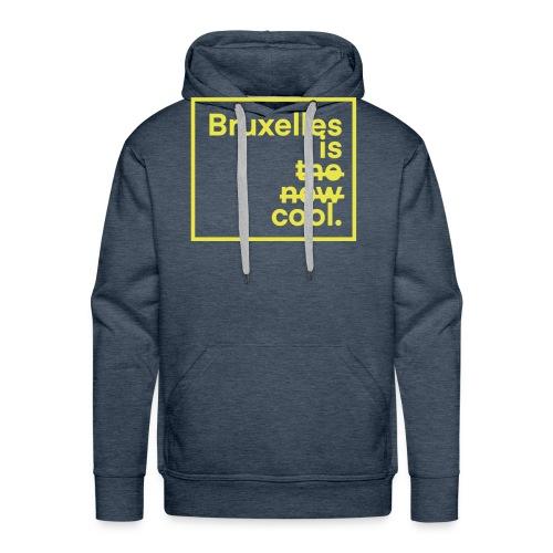Bruxelles is cool. - Sweat-shirt à capuche Premium pour hommes