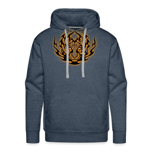 TIGRE 2 - Sweat-shirt à capuche Premium pour hommes
