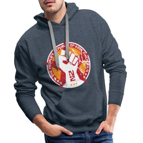 The people's republic of East Finchley - Men's Premium Hoodie