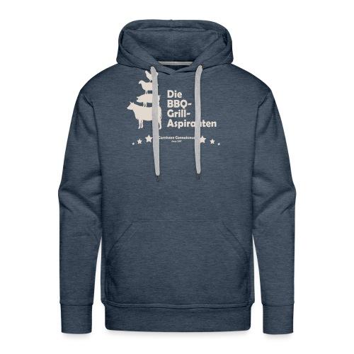 Die BBQ-Grill-Aspiranten - Grill Shirt - Männer Premium Hoodie